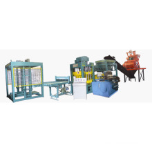 Automatic Hydraulic Burning-Free Block Making Machine (Qt4-15)